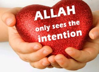 intention in islam