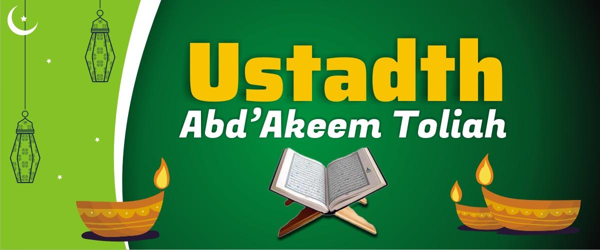 Abdul Akeem Toliah